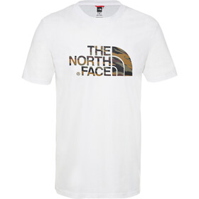 The North Face Easy Lyhythihainen T-paita Miehet, tnf white/british khaki tiger camo print